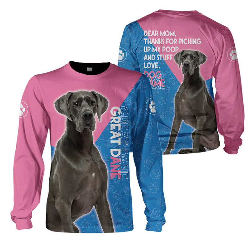 3d Apparel - Thanks To My Mom - Great Dane -NS