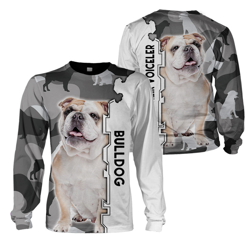 3d Apparel - We Are Their Voiceler -Bulldog -NS