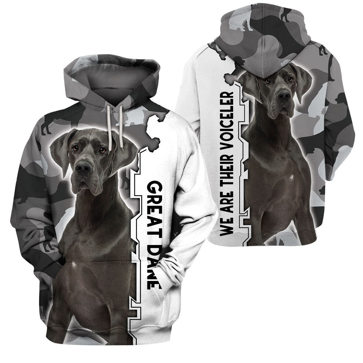 3d Apparel - We Are Their Voiceler - Great Dane -NS