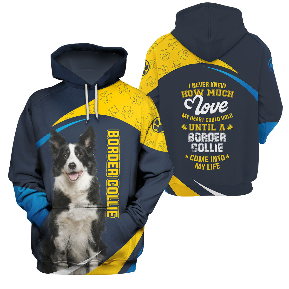3d Apparel -The Best Thing Come Into My Life - Border Collie