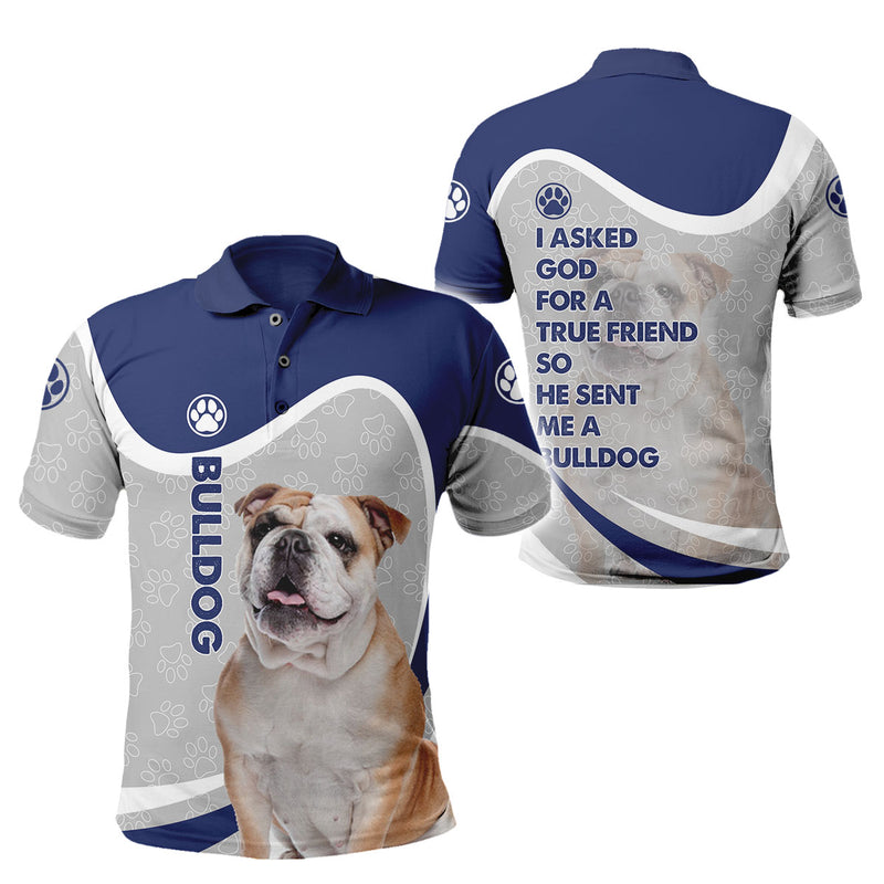 3d Apparel- God Send Me A Bulldog