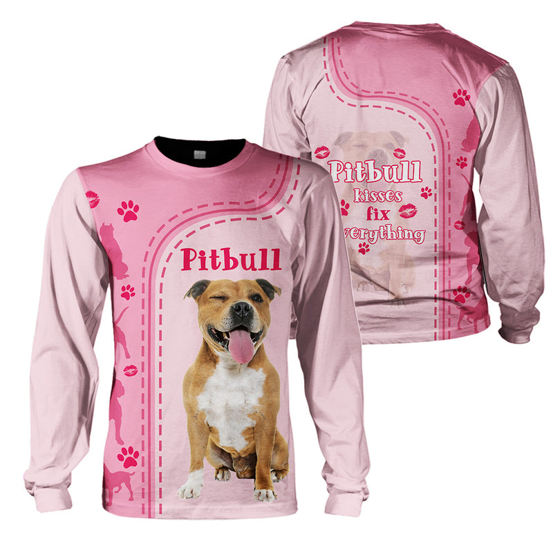 3d Apparel - Kiss Fix Everything - Pitbull -NS