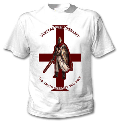 Trending Knight Templar Shirt - The Truth Shall Let You Free - GnWarriors Clothing