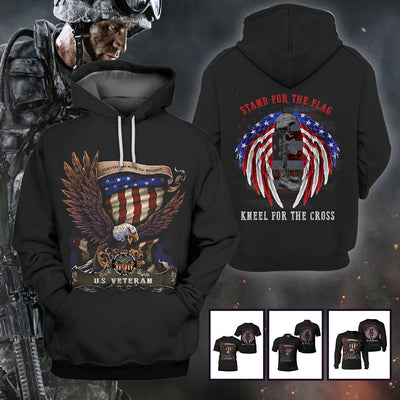 Limited Edition 3d apparel - US Veteran