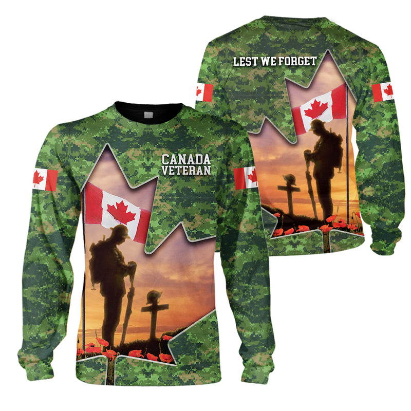 3d Canada Apparel - Veteran - Lest we forget