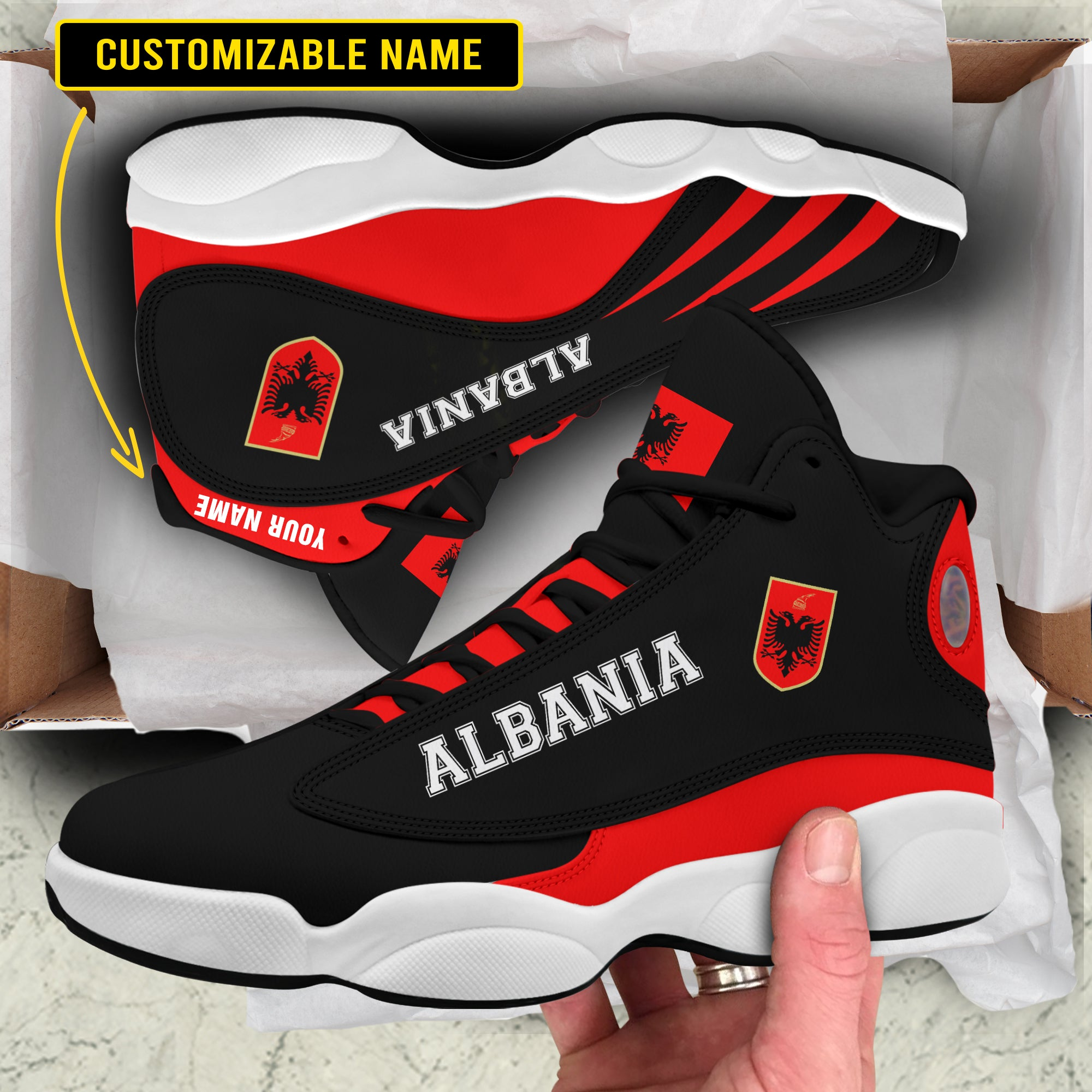 Air JD 13 - Limited edition - Albania