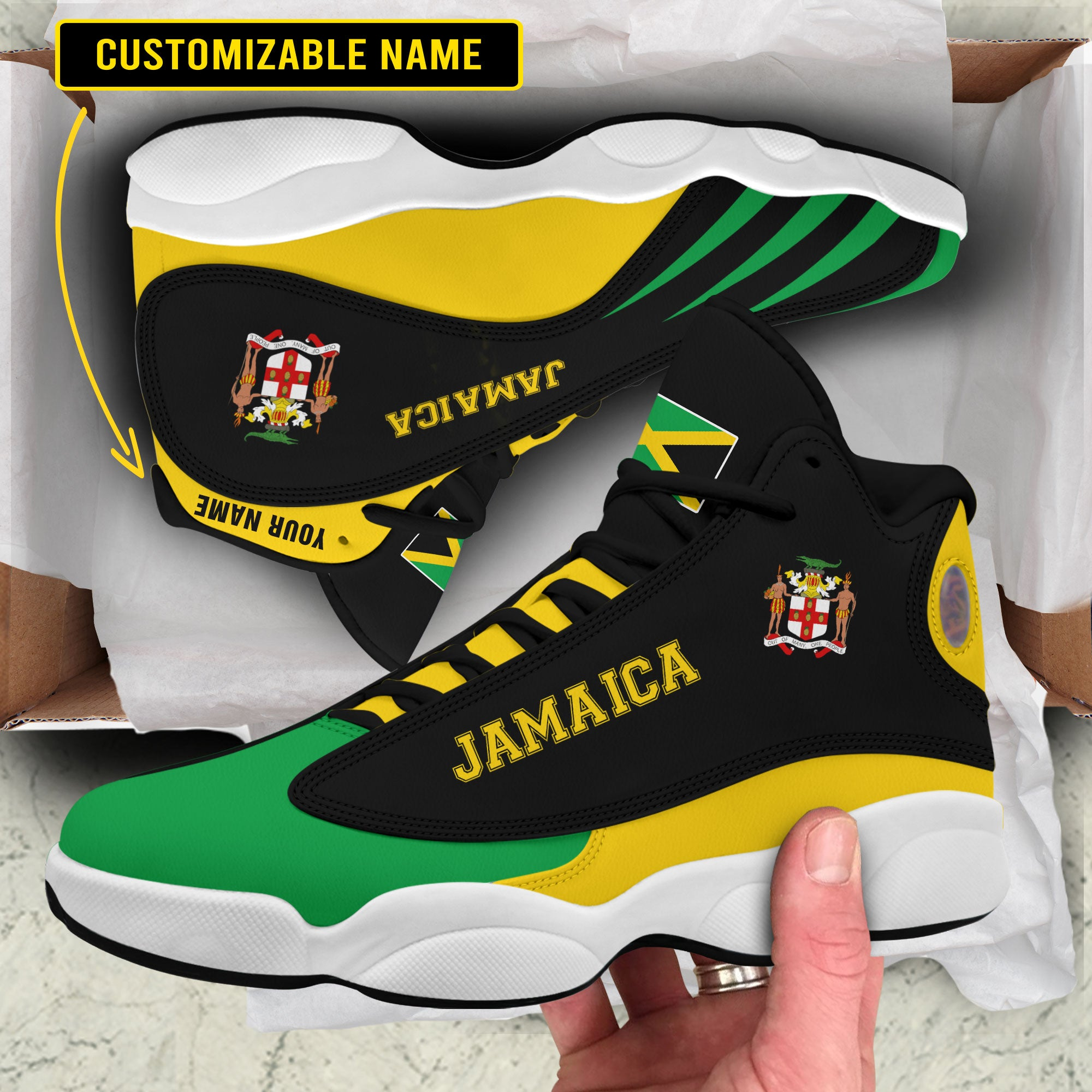 Air JD 13 - Limited edition - Jamaica