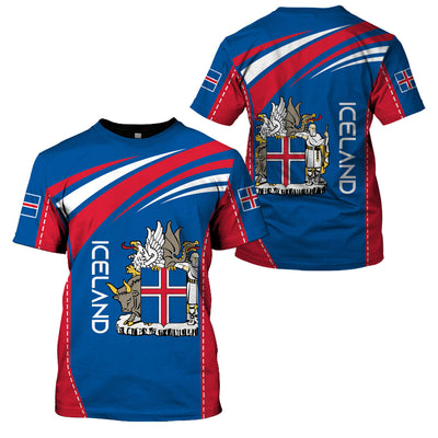 ICELAND LIMITED EDITION 3D FULL PRINTING - GnWarriors Clothing
