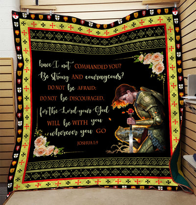 Trending Christian Quilt Collection - A woman Warriors quotes ql-hg119 - GnWarriors Clothing