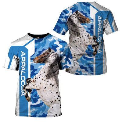 APPALOOSA BLUE CAMO LIMITED EDITION - GnWarriors Clothing