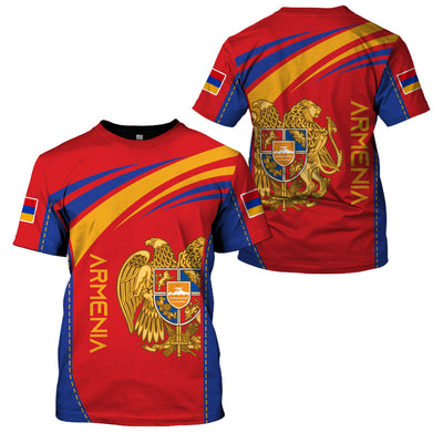ARMENIA LIMITED EDITION 3D FULL PRINTING - GnWarriors Clothing