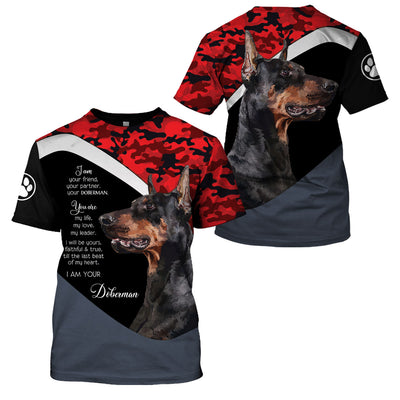 DOBERMAN RED CAMO LIMITED EDITION - GnWarriors Clothing