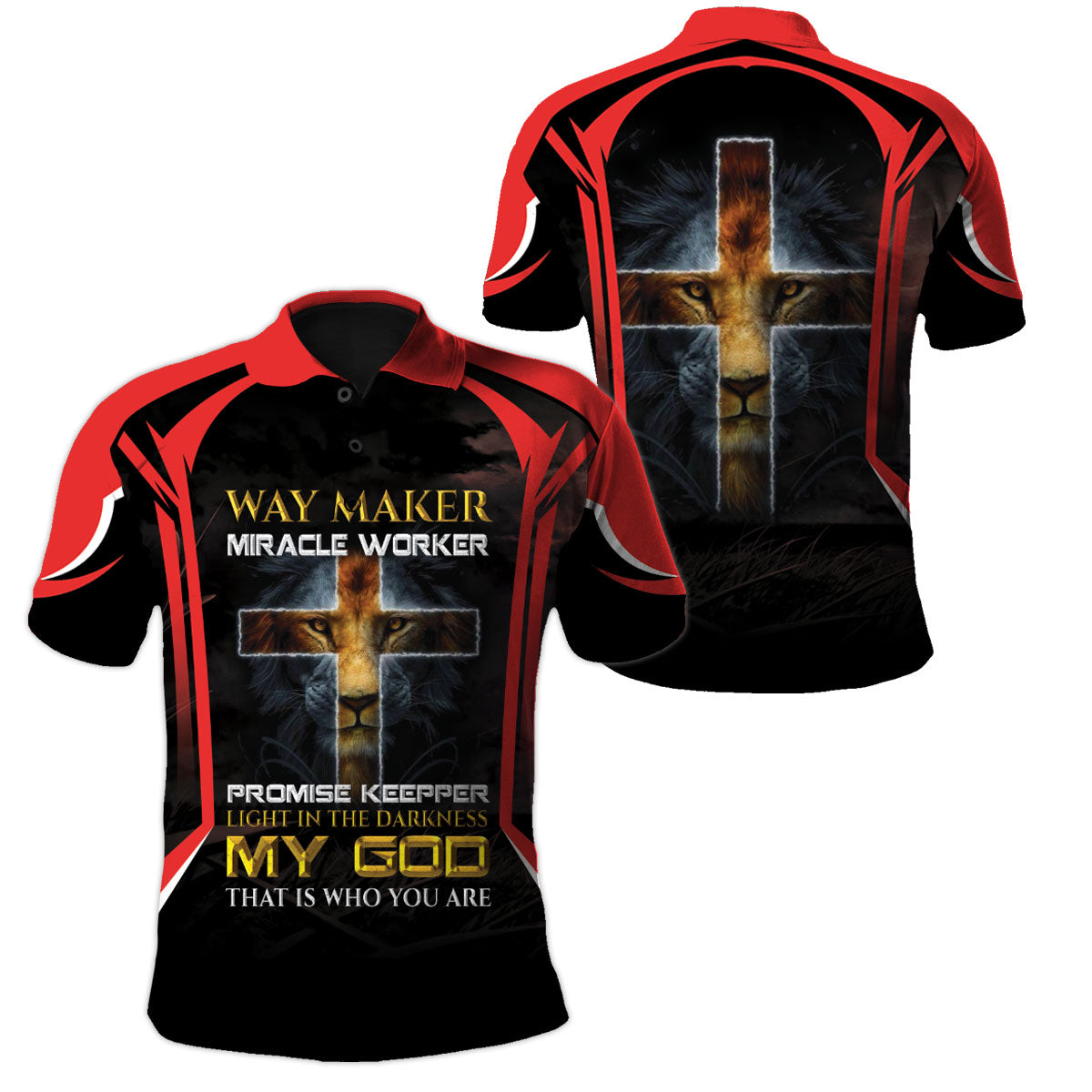 Christian Apparel 3D Printed - Light In The Darkness - GnWarriors Clothing