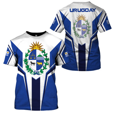URUGUAY LIMITED EDITION 3D FULL PRINTING - GnWarriors Clothing