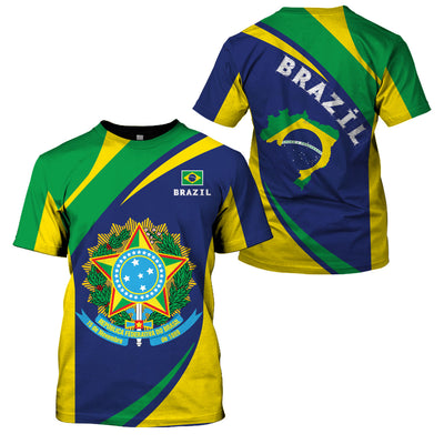 BRAZIL LIMITED EDITION NEW DESIGN - GnWarriors Clothing