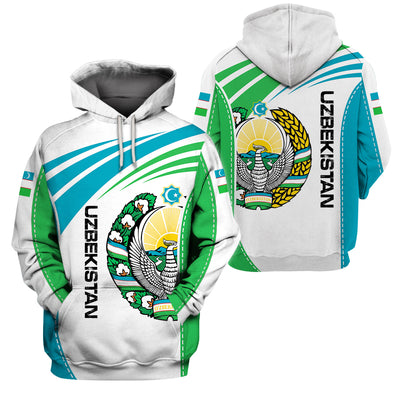 UZBEKISTAN LIMITED EDITION NEW DESIGN - GnWarriors Clothing