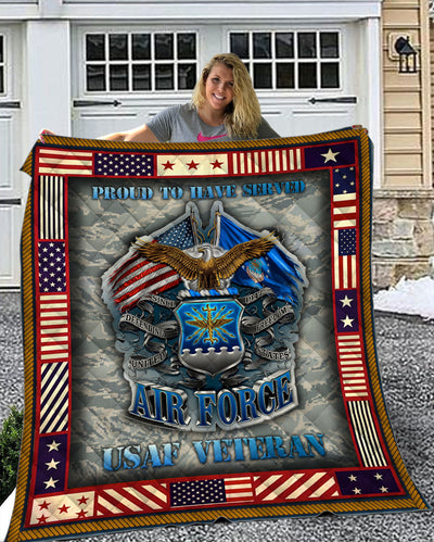 U.S AIR FORCE Quilt - ql-hg25 - GnWarriors Clothing