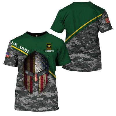 U.S Army  Apparel - All Over 3D Printed Clothing - GnWarriors Clothing