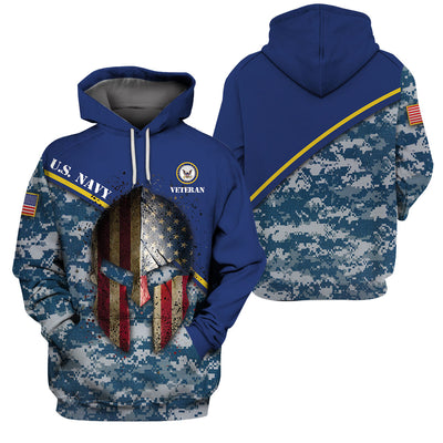 U.S Navy  Apparel - All Over 3D Printed Clothing - GnWarriors Clothing