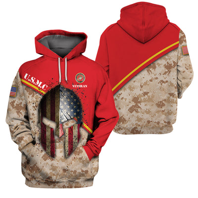 USMC Clothing 3D Printed - GnWarriors Clothing