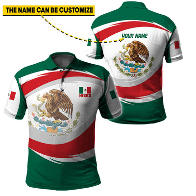 CUSTOMIZABLE MEXICO LIMITED EDITION 3D NEW DESIGN - GnWarriors Clothing