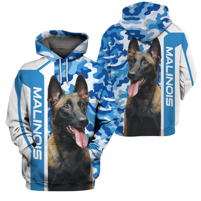 MALINOIS BLUE CAMO LIMITED EDITION - GnWarriors Clothing