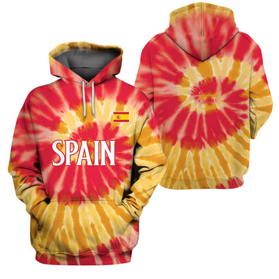 3D Clothing Limited Edition of Spain - T.I.E.D.Y.E - GnWarriors Clothing