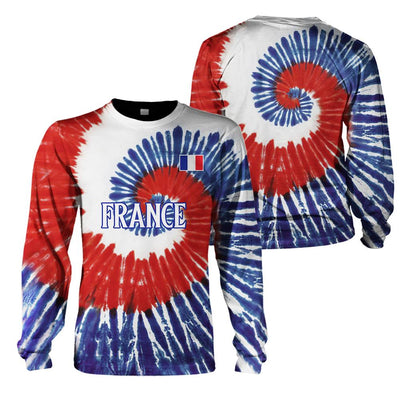 3D Clothing Limited Edition of France - T.I.E.D.Y.E - GnWarriors Clothing