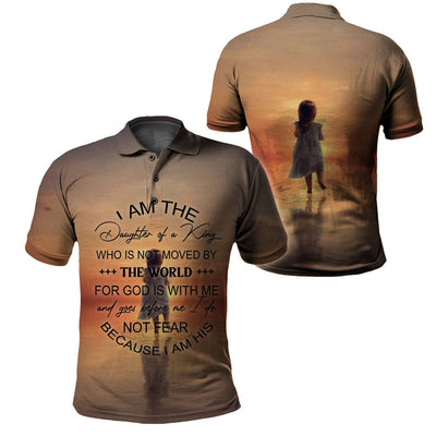 3D Christian Clothing - For God Is With Me - GnWarriors Clothing