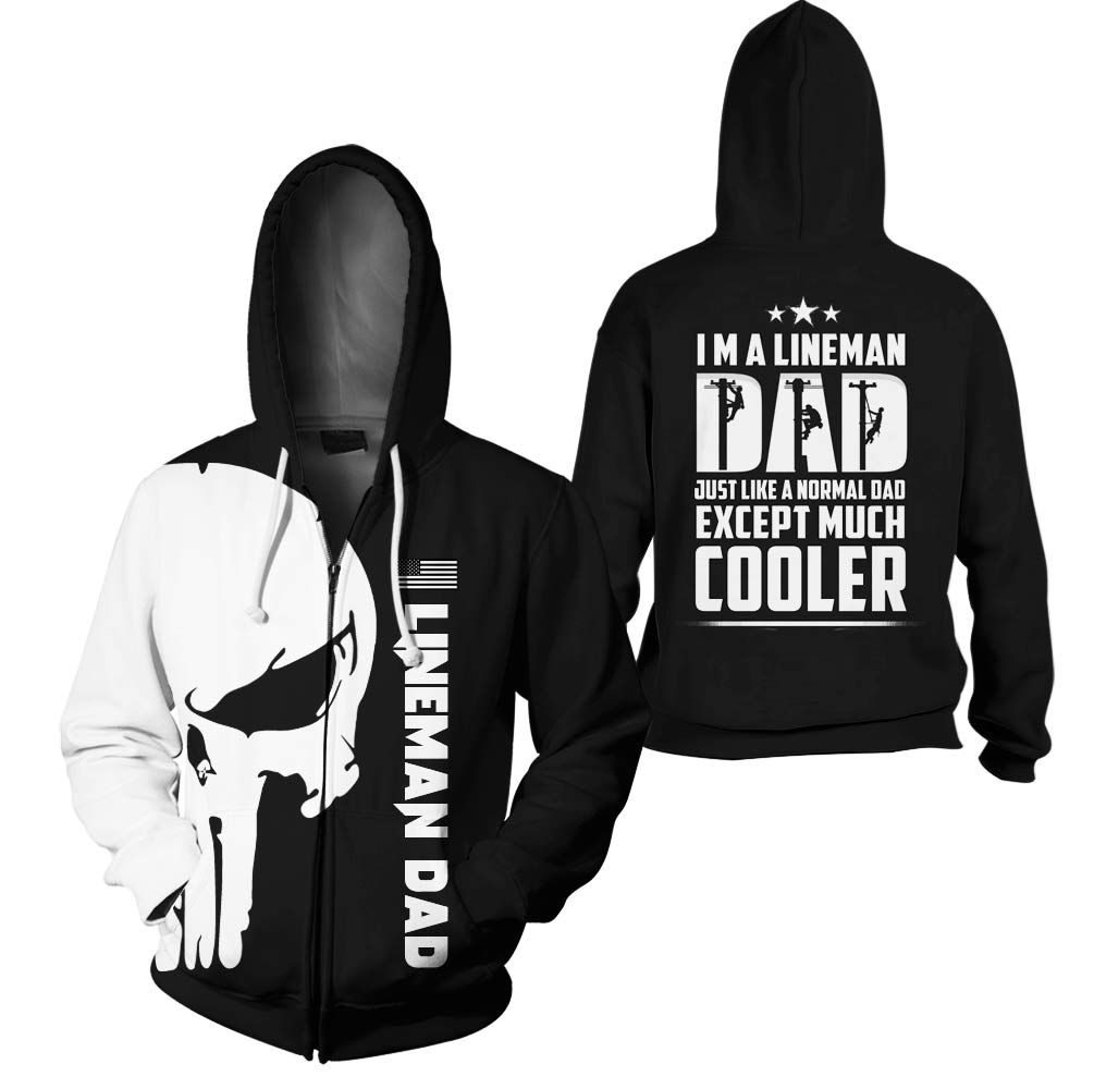 3D Print Full Printed Clothing - Lineman Dad Cooler - GnWarriors Clothing