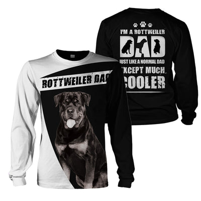 3D Print Full Animal Clothing - Rottweiler Dad - GnWarriors Clothing