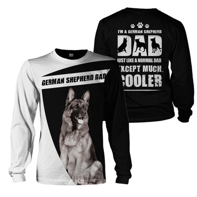 3D Print Full Animal Clothing - German Shepherd Dad - GnWarriors Clothing
