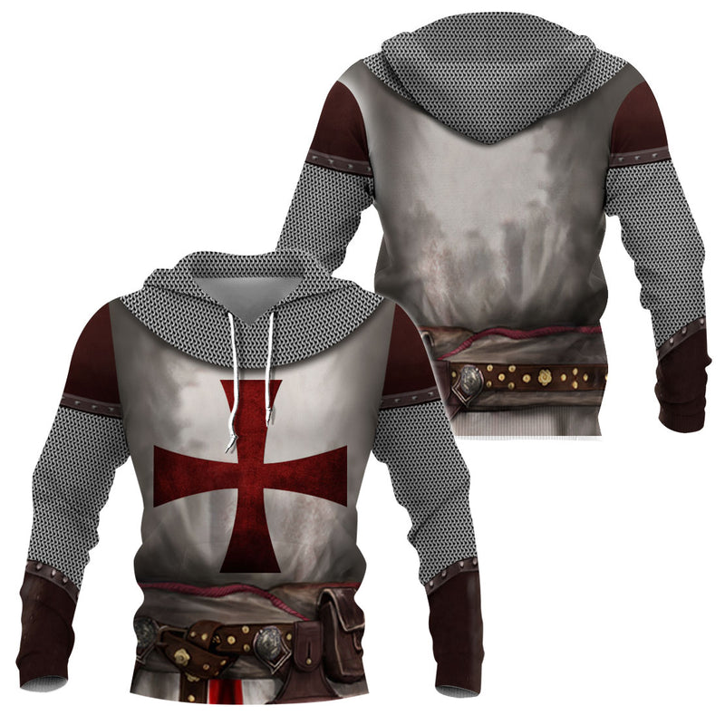 3D Knights Templar Apparel - Epic Knights Templar Costume