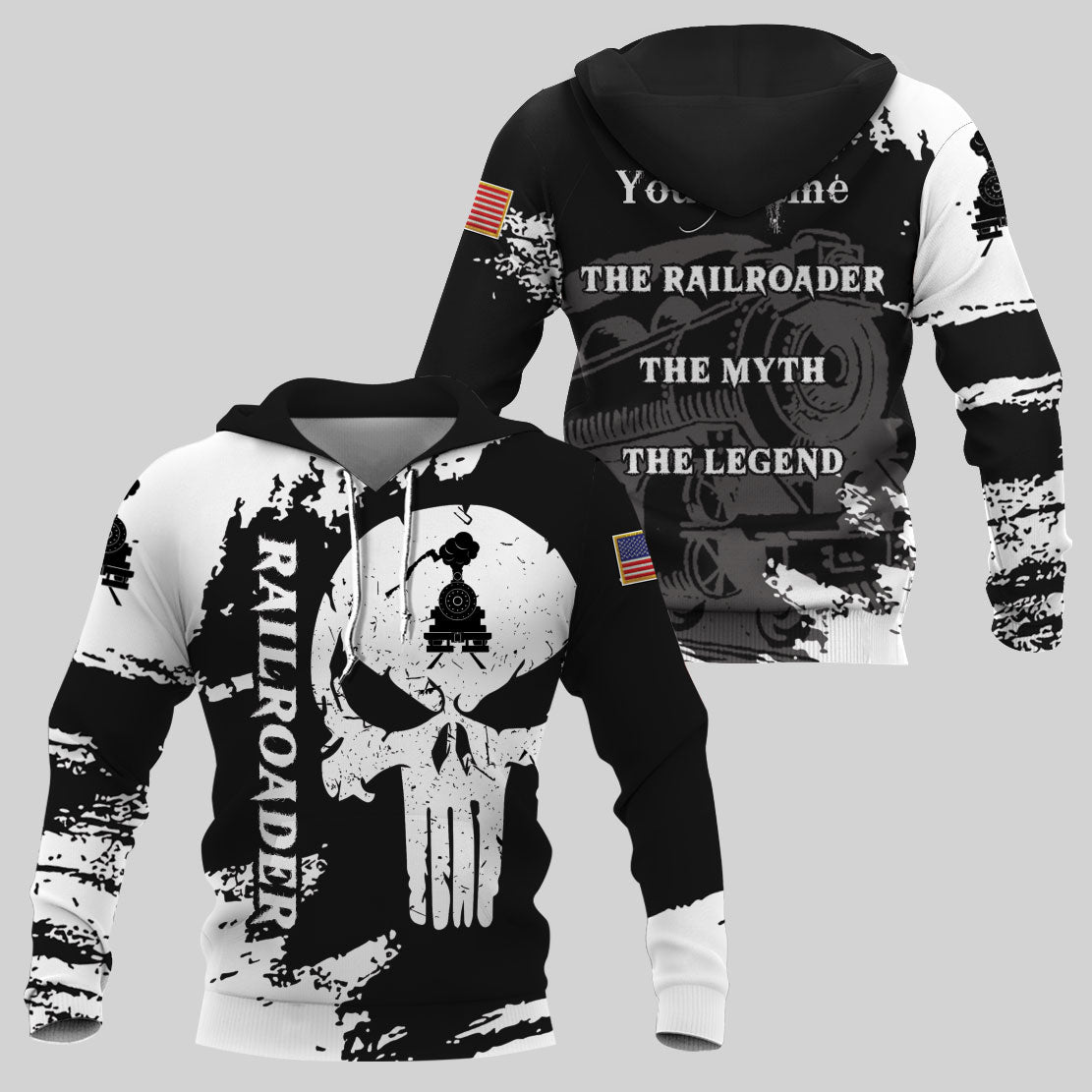 Best selling 3d apparel 9 - Railroader customizable design