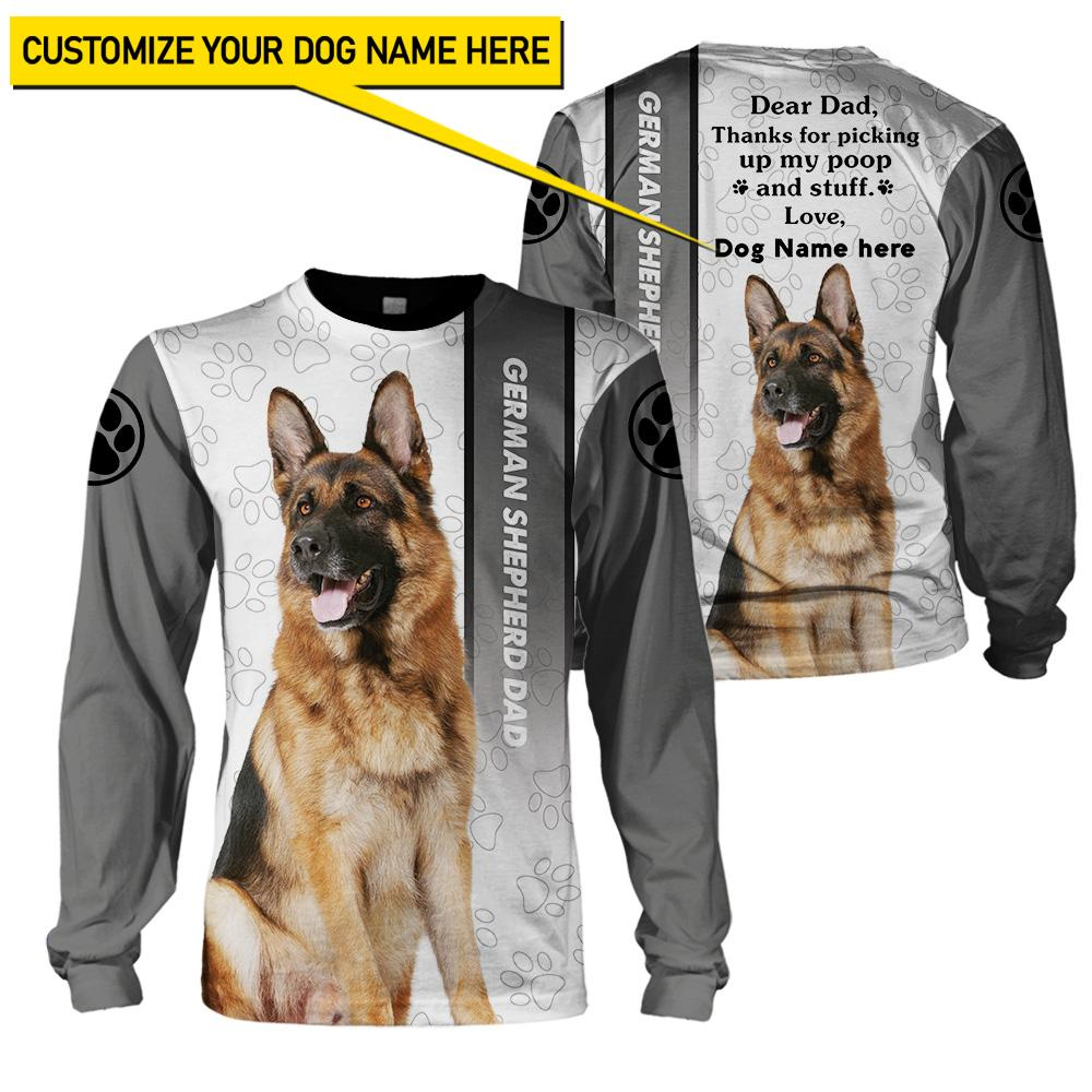 Best selling 3d apparel - Best dog dad customizable - 5