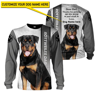 Best selling 3d apparel - Best dog dad customizable - 6