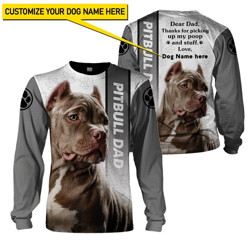 Best selling 3d apparel - Best dog dad customizable - 7