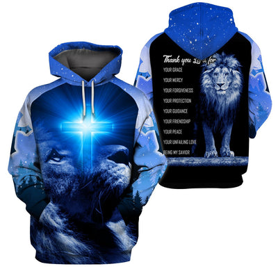 Best selling 3d apparel - Christian - Thank you Lord for everything