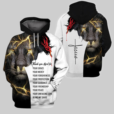 Best selling 3d apparel - Christian - Thank you Lord for everything 1