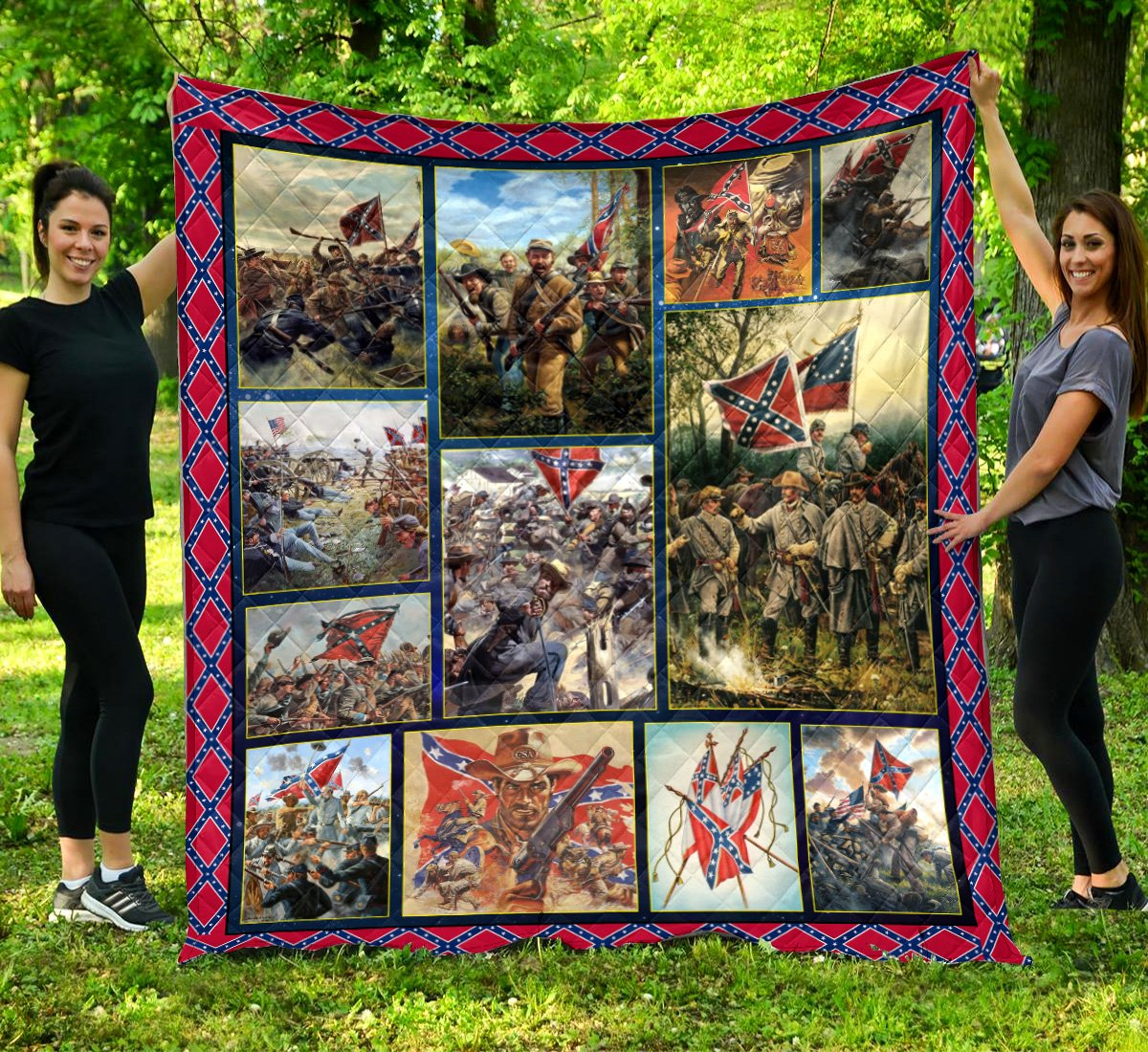 Limited Edition Southern Pride 3D Blanket  - QL-HG601