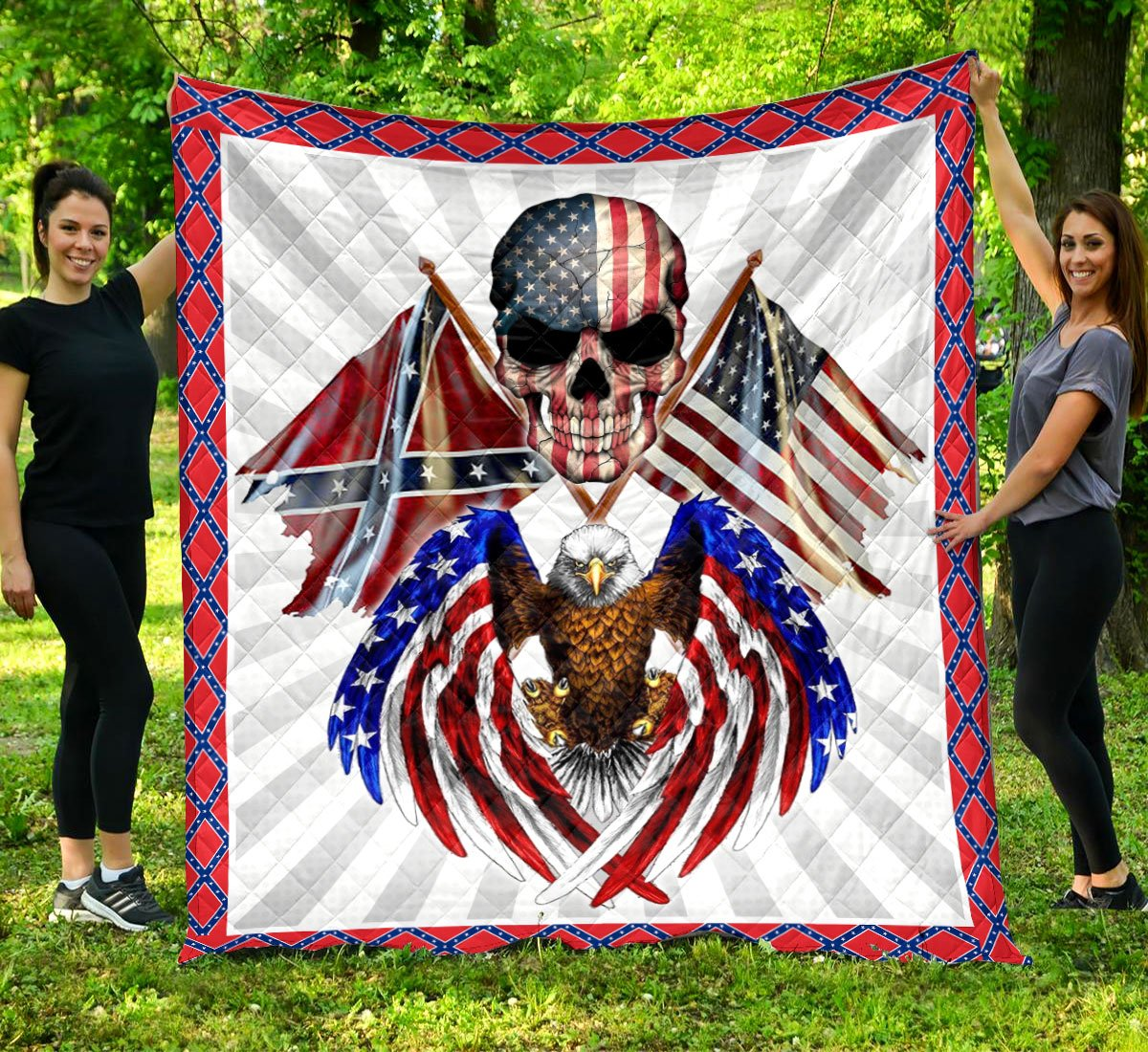 Limited Edition Southern Pride 3D Blanket  - QL-HG602