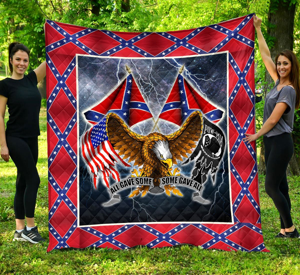 Limited Edition Southern Pride 3D Blanket  - QL-HG604