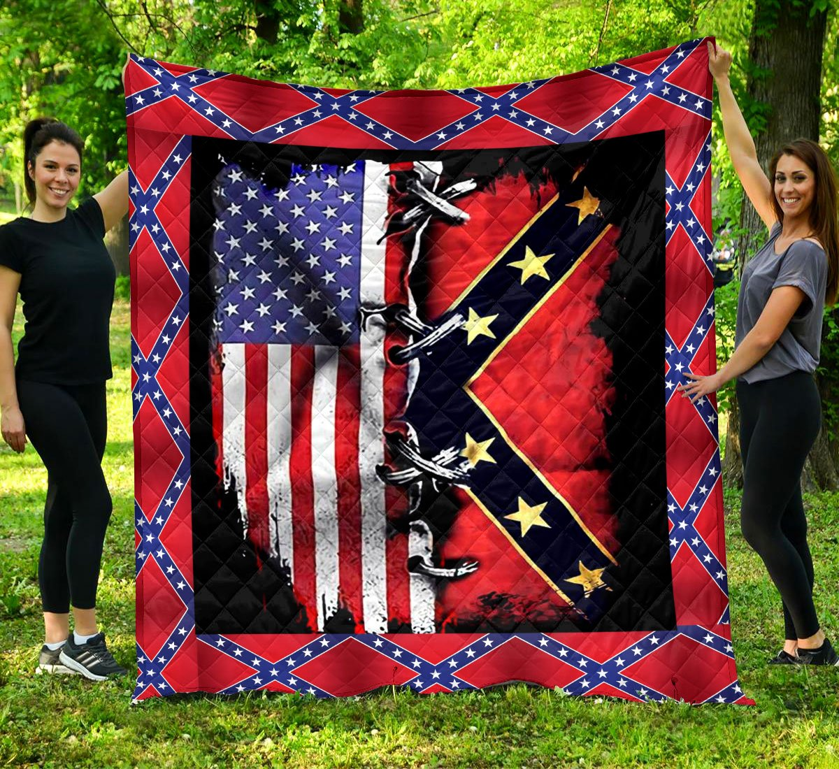 Limited Edition Southern Pride 3D Blanket  - QL-HG606