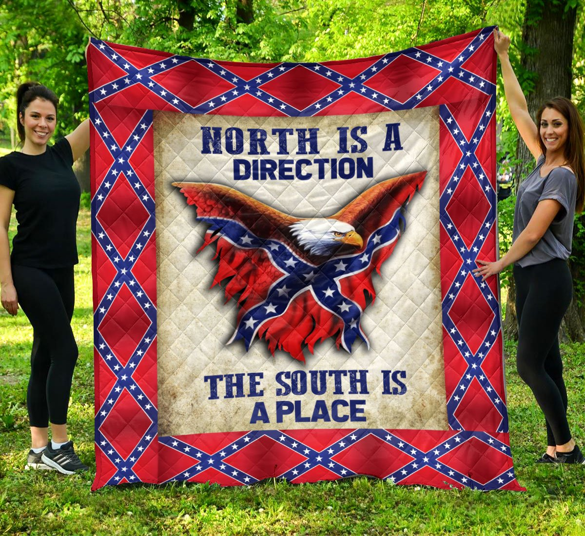 Limited Edition Southern Pride 3D Blanket  - QL-HG608