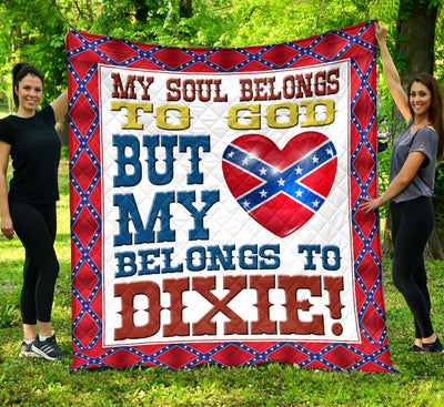 Limited Edition Southern Pride 3D Blanket  - QL-HG610