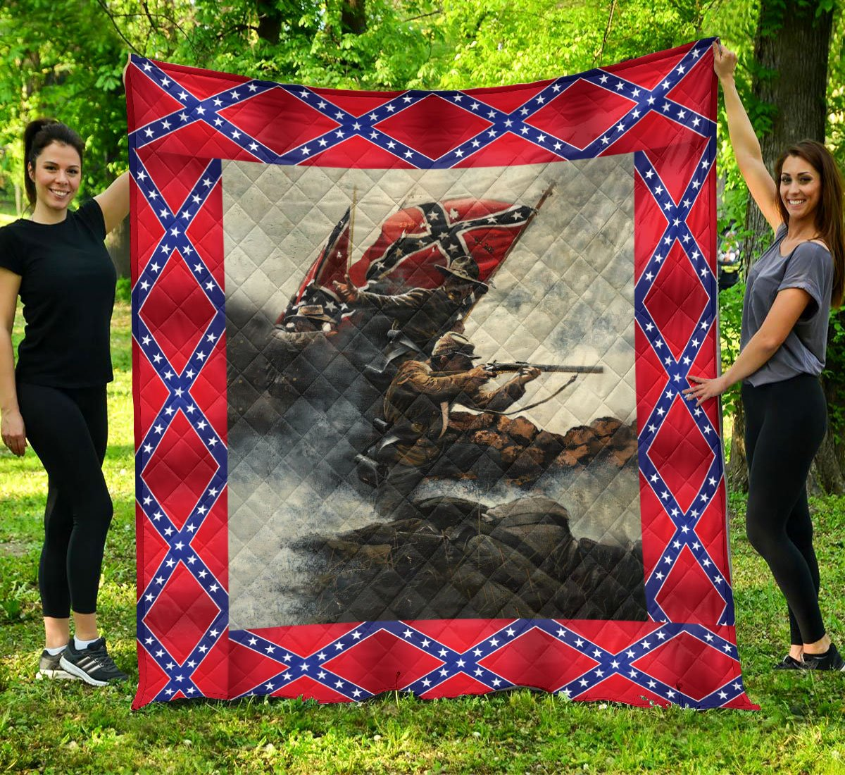 Limited Edition Southern Pride 3D Blanket  - QL-HG613