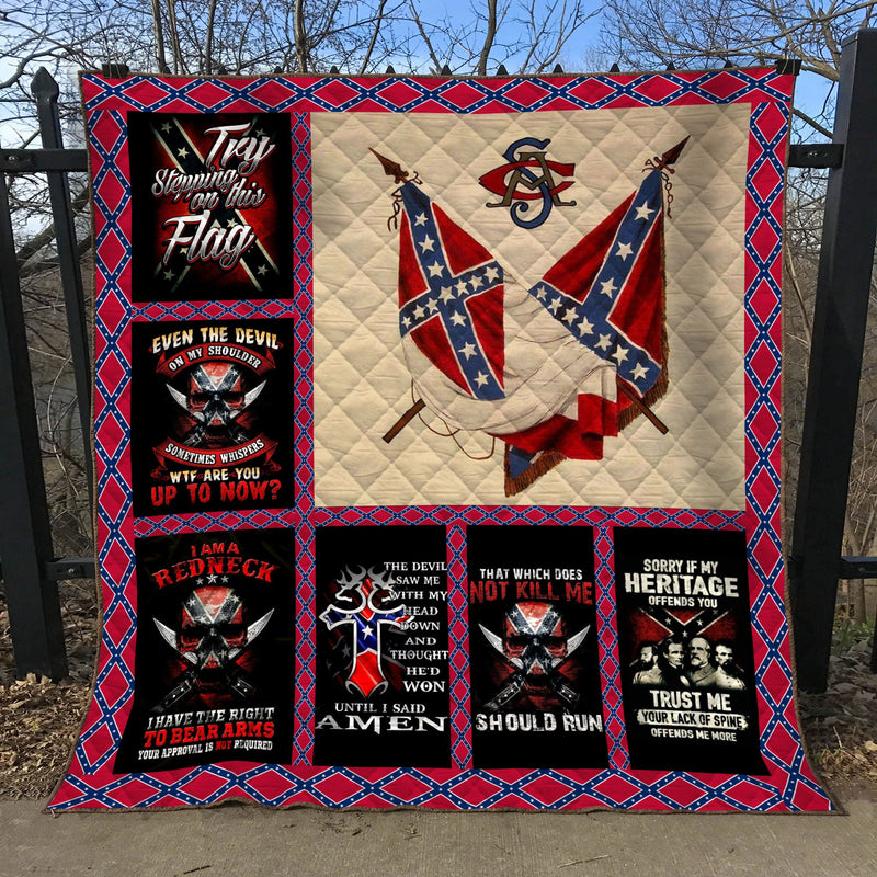 Limited Edition Southern Pride 3D Blanket  - QL-HG616