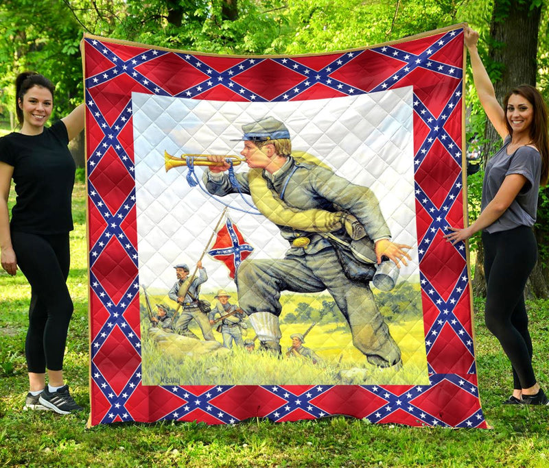 Limited Edition Southern Pride 3D Blanket  - QL-HG629