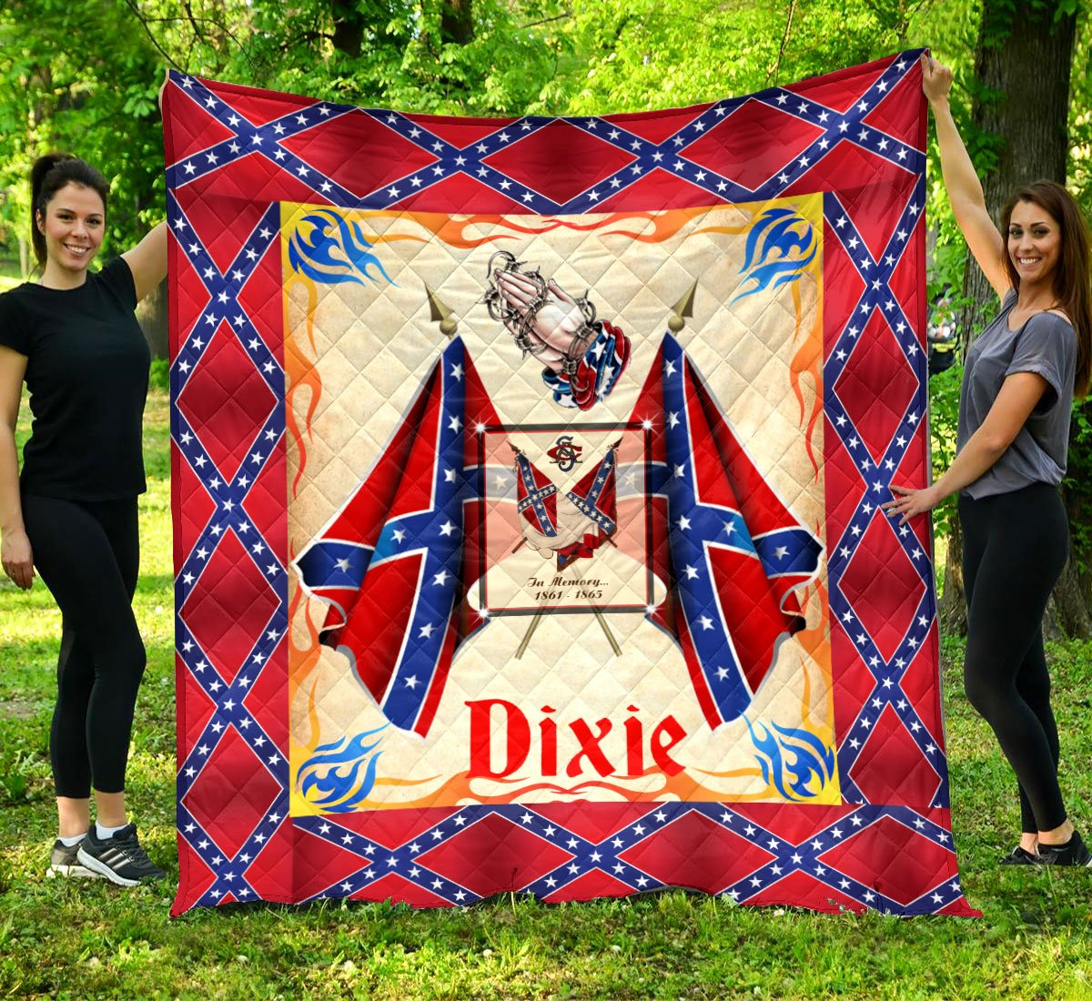 Limited Edition Southern Pride 3D Blanket  - QL-HG620