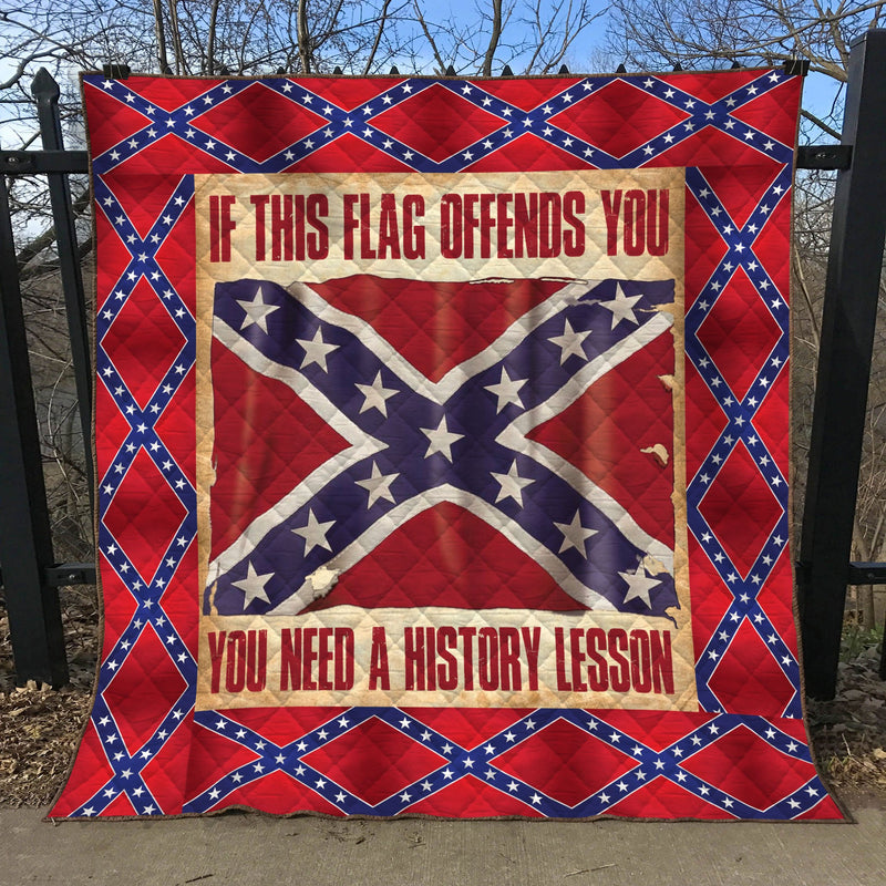 Limited Edition Southern Pride 3D Blanket  - QL-HG624
